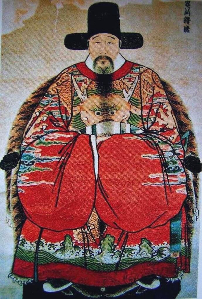 上图:张居正(1525-1582年),明万历年间为内阁首辅长达十年,任内推行一条鞭法,使赋税货币化,影响深远。